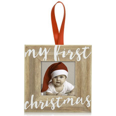 My First Christmas Wooden Ornament