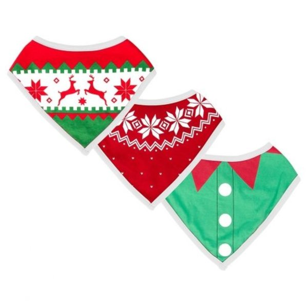 View larger image of Ugly Sweater Bibs