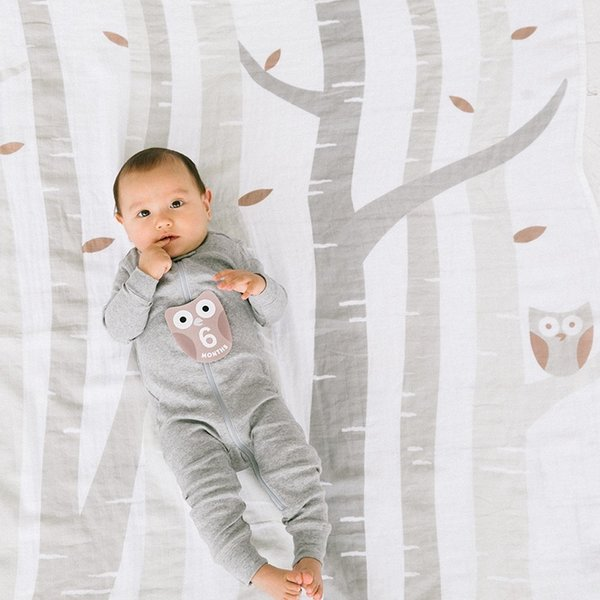 View larger image of Watch Me Grow Photo Blanket - Grey