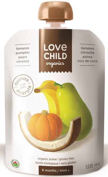 View larger image of Pears, Pumpkin, Banana & Coconut-Super Blend