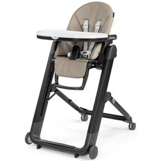 Siesta High Chair - Eco Leather - Ginger Grey