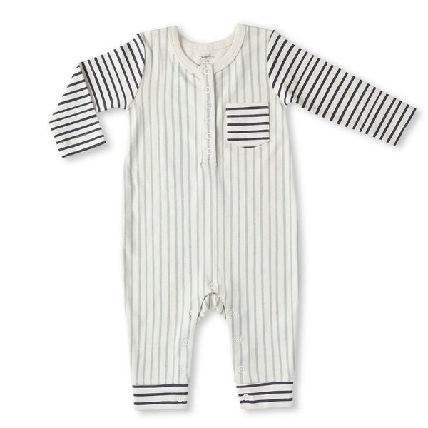 View larger image of Organic Rompers - Stripes Away
