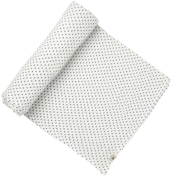 View larger image of Pin Dot Swaddle - Navy