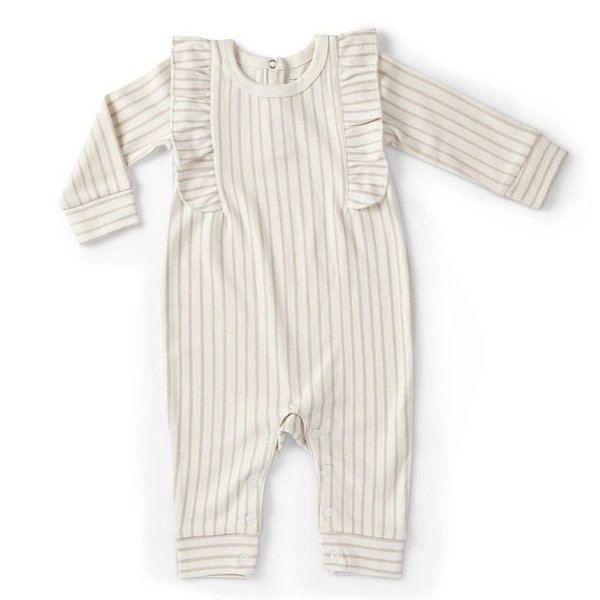 View larger image of Ruffle Rompers - Long Sleeve