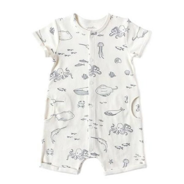 View larger image of Short Sleeve Rompers