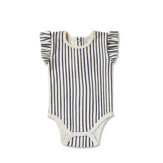 Stripes Away Short Sleeve One-Piece