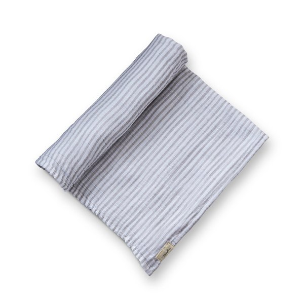 View larger image of Stripes Away Swaddle - Pebble