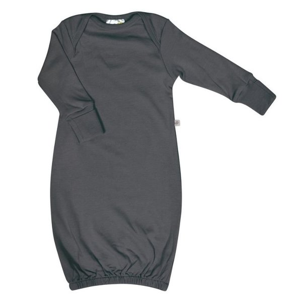 View larger image of Bamboo Baby Nightgown - Charcoal