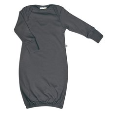 Bamboo Baby Nightgown - Charcoal