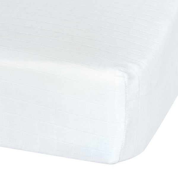 View larger image of Cotton Muslin Fitted Sheet