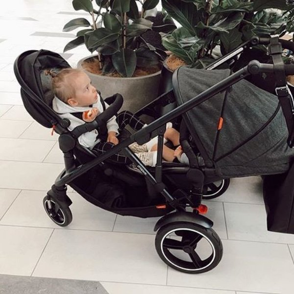View larger image of VOYAGER Inline Buggy Stroller - Black