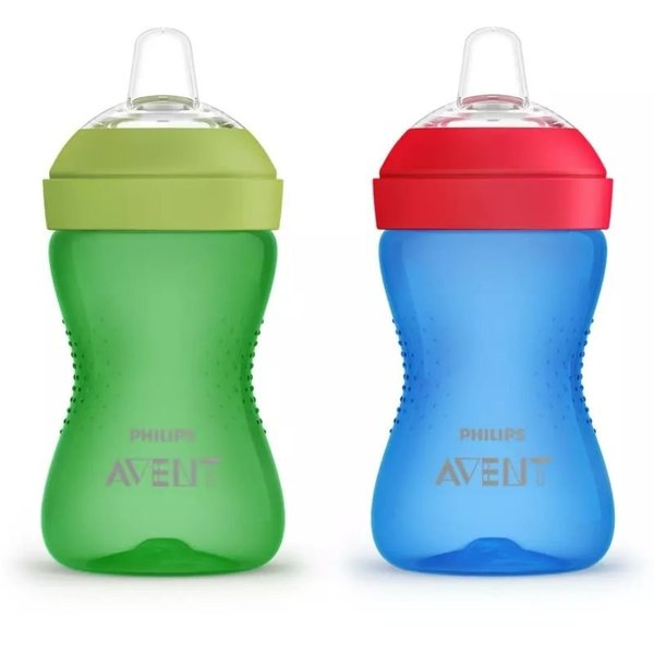View larger image of Flexible Silicone Spout Cup - 2 Pack