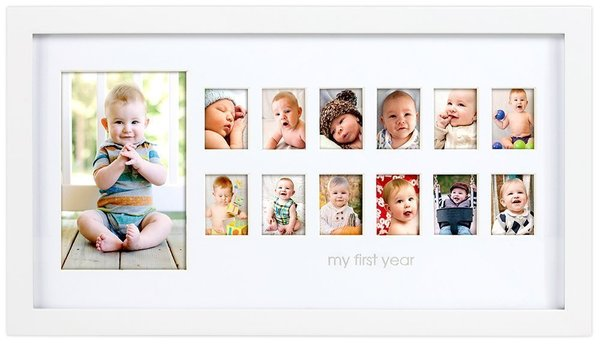 View larger image of Photo Moments Frame-White