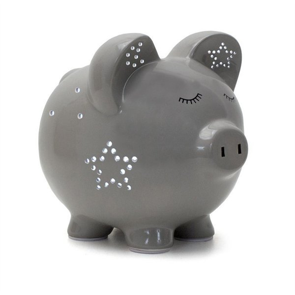 View larger image of Grey Night Light-Pig