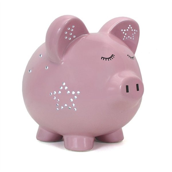 View larger image of Pink Night Light-Pig