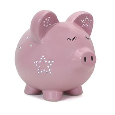 Pink Night Light-Pig