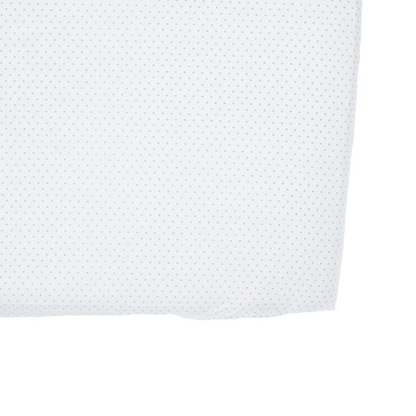 View larger image of Pin Dot Crib Sheet-Grey