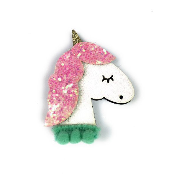 View larger image of Pink Sparkly Unicorn Clip
