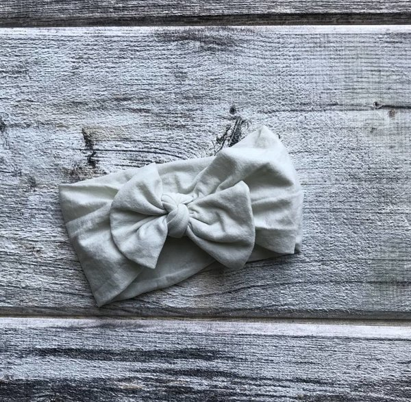 View larger image of Pivoine Headband - White/Grey