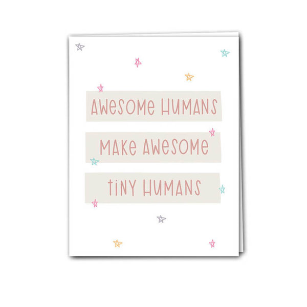 View larger image of Card - Awesome Tiny Humans