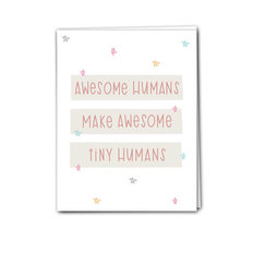 Card - Awesome Tiny Humans
