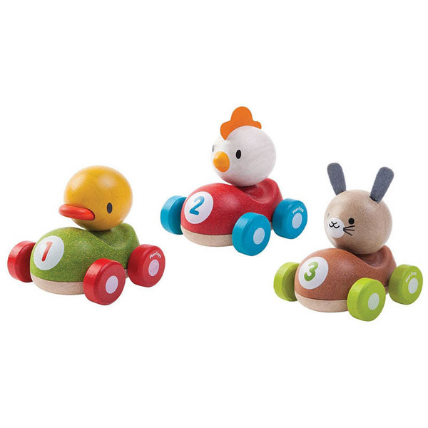 View larger image of Wooden Animal Racers