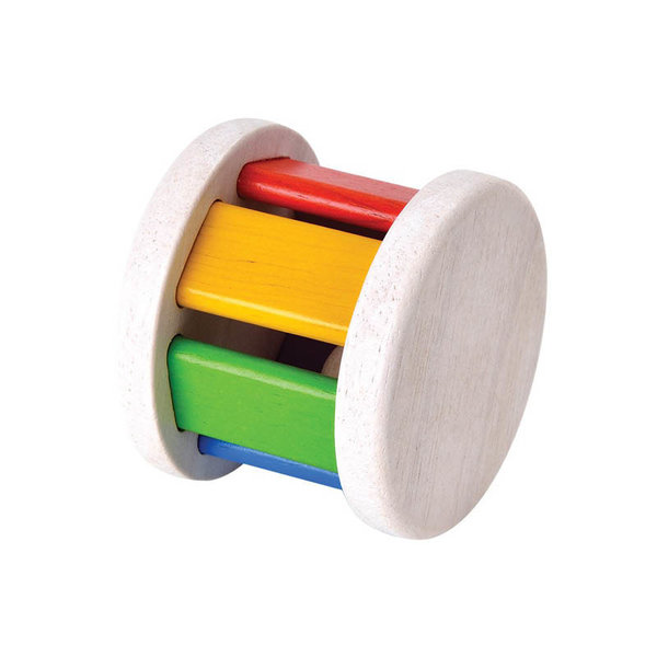 View larger image of Rainbow Wooden Roller Toy