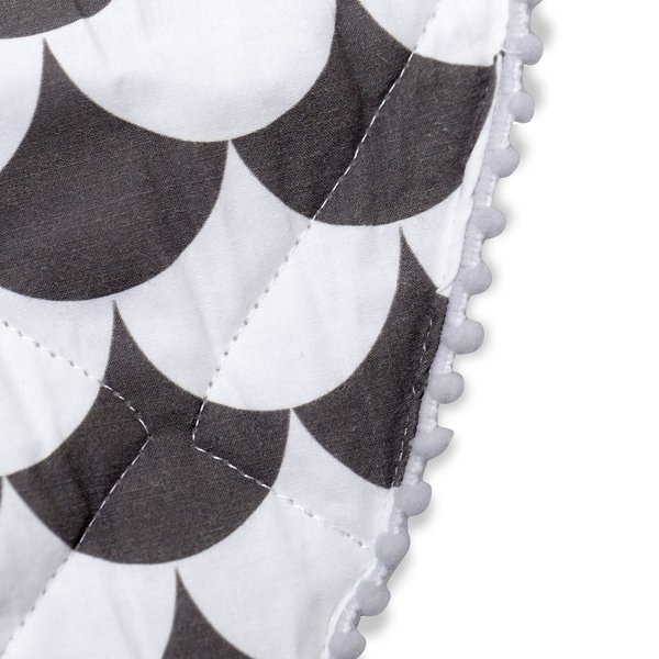 View larger image of Playmat - Black Scallop