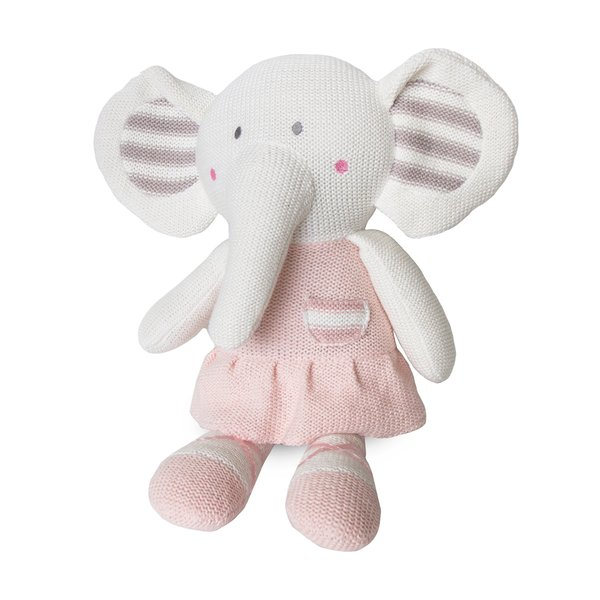 View larger image of Knit Toy - Amelia Elephant