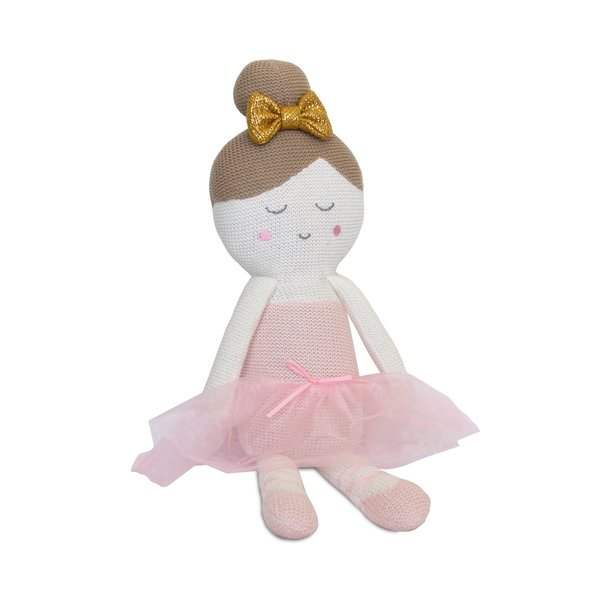 View larger image of Knit Toy-Emma Ballerina