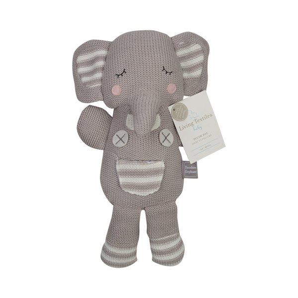 View larger image of Plush Toy Grey Theodore Elephant