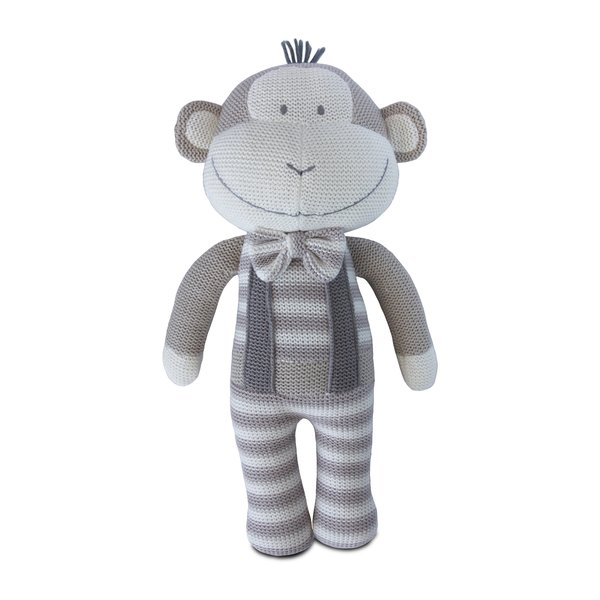 View larger image of Knit Toy-Joe Monkey