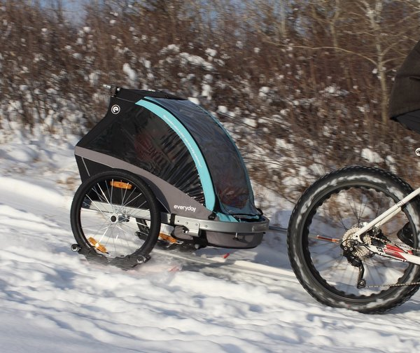 View larger image of RX3 Ski Set for Stroller & Bike Trailers