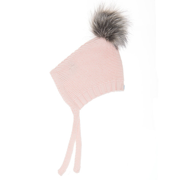 View larger image of Pom Pom Hat - Pink