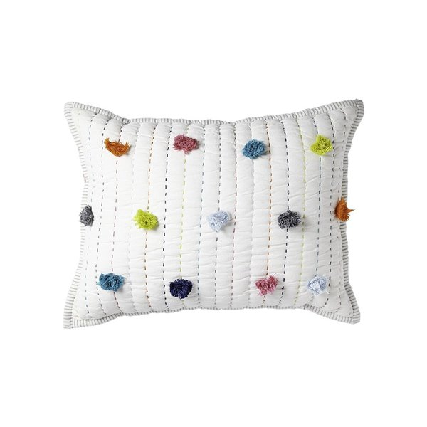 View larger image of Quilted Nursery Pillow - Multi