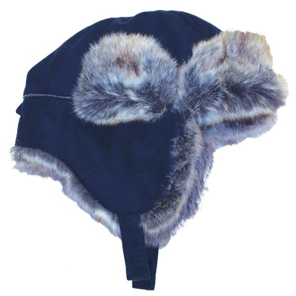 View larger image of Pom Trapper Hat - Navy