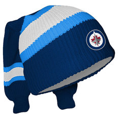 Winnipeg Jets Hockey Sockey Reversible Knit Hat