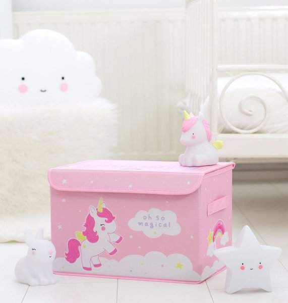 View larger image of Pop-Up Storage Box - Unicorn