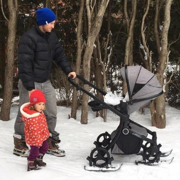 View larger image of Stroller Skis