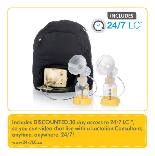 View larger image of Pump In Style Breast Pump Backpack