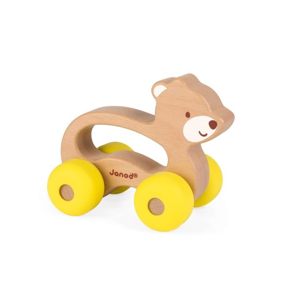 View larger image of Baby Pop Push Along Bear Toy