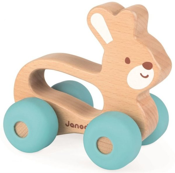 View larger image of Baby Pop Push Along Bunny Toy