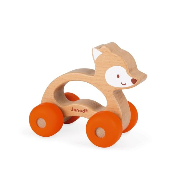 View larger image of Baby Pop Push Along Fox Toy