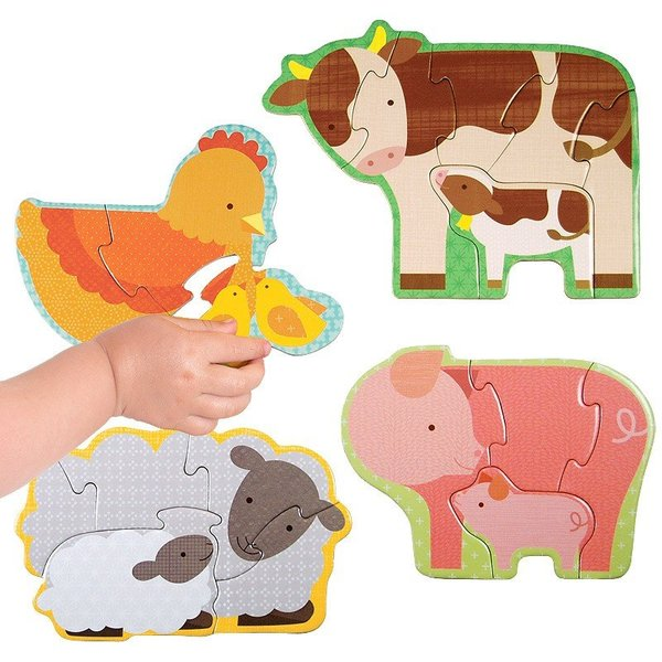 View larger image of Farm Babies - Beginner Puzzle