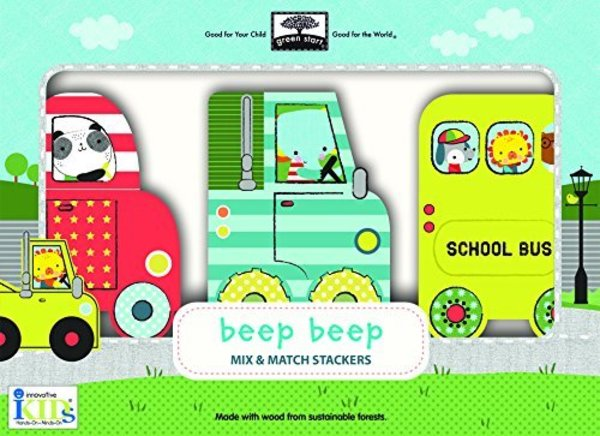 View larger image of Puzzle Stackers - Beep Beep