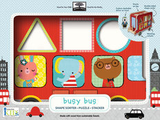 Puzzle Stacker - Busy Bus