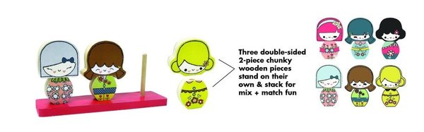 View larger image of Puzzle Stackers - Sweet Petites