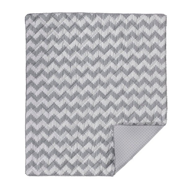 View larger image of Quilted Comforter Aztec Chevron