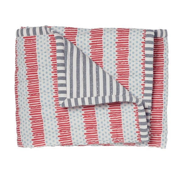 View larger image of Quilted Nursery Blanket-Blue