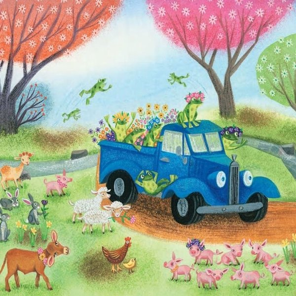 View larger image of Little Blue Truck Board Book